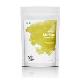 Herbilogy Moringa (Daun Kelor) Extract Powder 100g