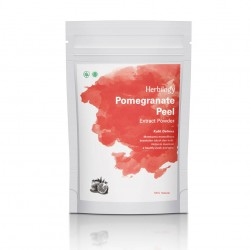 Herbilogy Pomegranate Peel (Kulit Delima) Extract Powder 100g