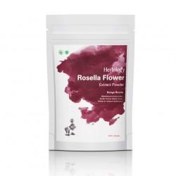Herbilogy Hibiscus flower (Rosella) Extract Powder 100g