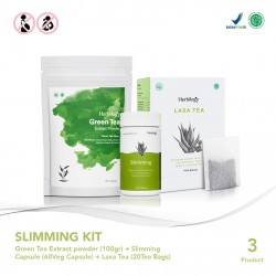 Herbilogy Slimming Kit With Green Tea