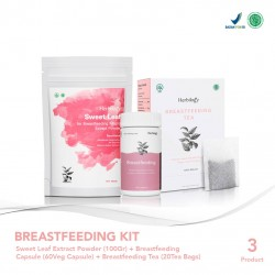 Herbilogy Breastfeeding Kit With Sweet Leaf