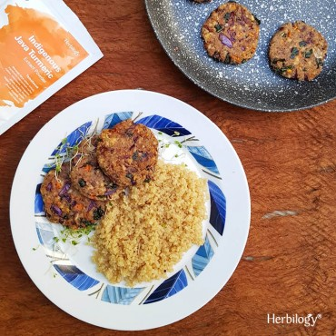 Turmeric Vegan Falafel