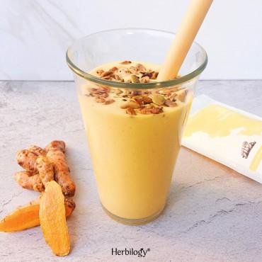 Mango Turmeric Lassi