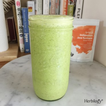 Java Turmeric Green Smoothie
