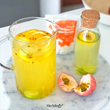 Java Turmeric Passionfruit Lemonade