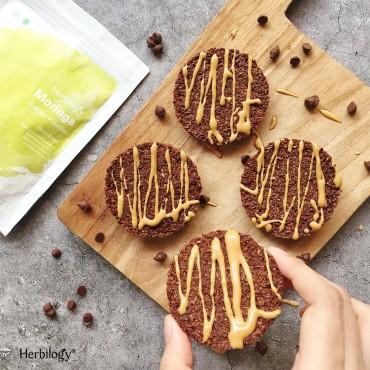 Moringa Choco Coco Cookies