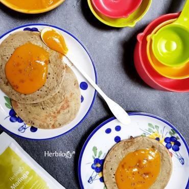 Greeny Moringa Pancake