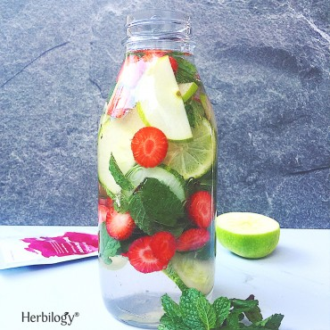 Rosella Infused Water
