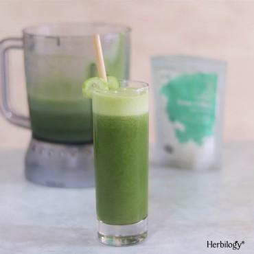 Jus Bayam Green Coffee